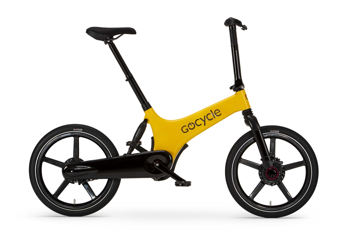 Gocycle G3C Yellow/Black
